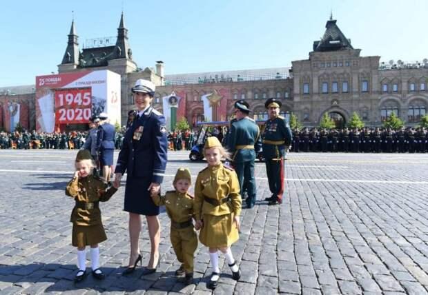 Московский парад Победы 2020 в объективе