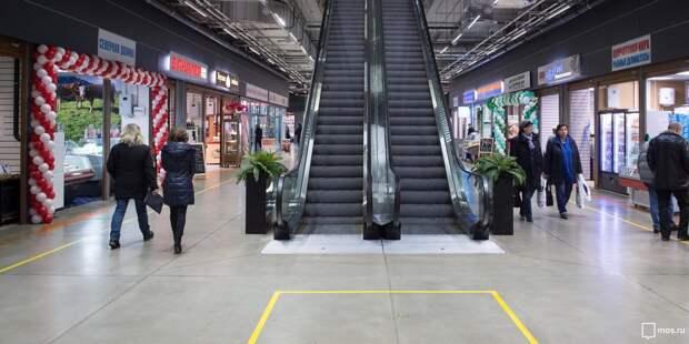Торговый центр на Ленинградке будет работать до пяти вечера в субботу