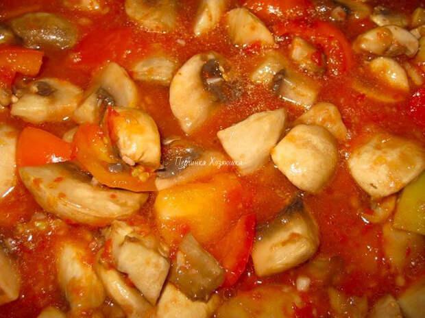 Рецепты лечо с грибами на зиму