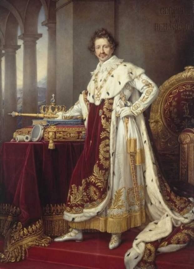 Людвиг I Баварский. / Фото: www.loyalroyal.me