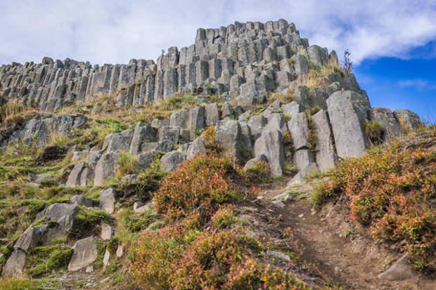Панска скала, или «Орган Дьявола» - базальтовый холм в Каменицки-Шенов, Чехия