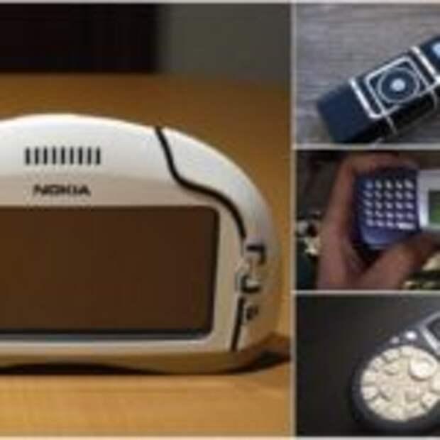 12 самых странных телефонов Nokia