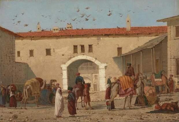 Путешествие на Ближний Восток. / Фото: imgur.com.