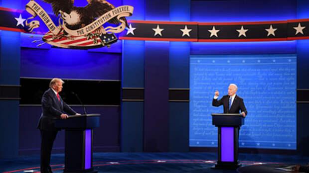 "Трамп и Байден рассорились на дебатах из-за миллионов ""от Путина"""