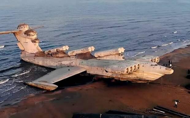 Уникальный российский экранолет станет грозой ВМС США в Арктике