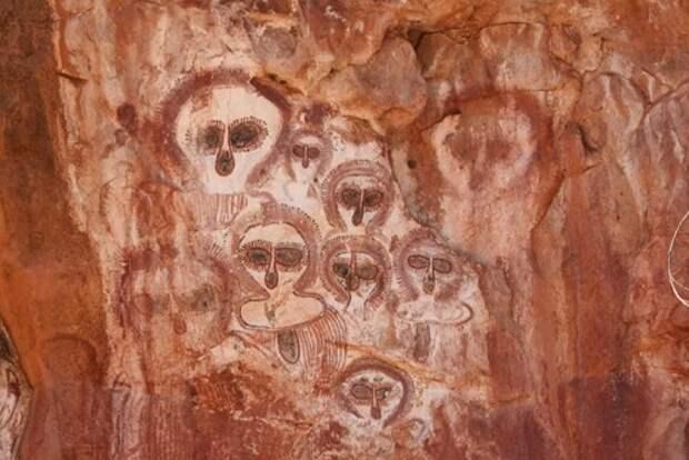 Загадка австралийских петроглифов