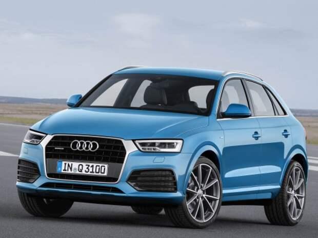 Стартовали продажи обновленного семейства Audi Q3 в России