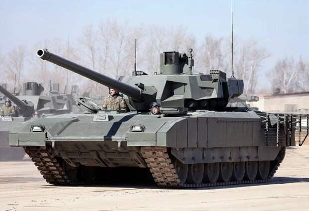Китайские военные эксперты высоко оценили факт испытания «Арматы» в Сирии