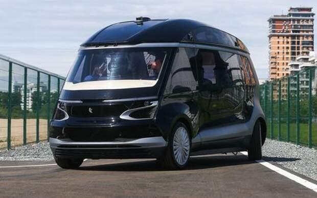 Беспилотный автобус КАМАЗ: новый дизайн и запуск в серию через три года