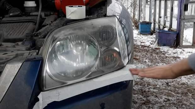 Простой способ полировки фар автомобиля с долговечным результатом за 30 минут
