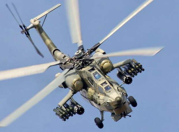 Иностранцам непонятно, почему российские вертолеты в Сирии летают так низко