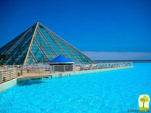 Самый большой бассейн в мире - Сан Альфонсо дель Мар, Чили - 9