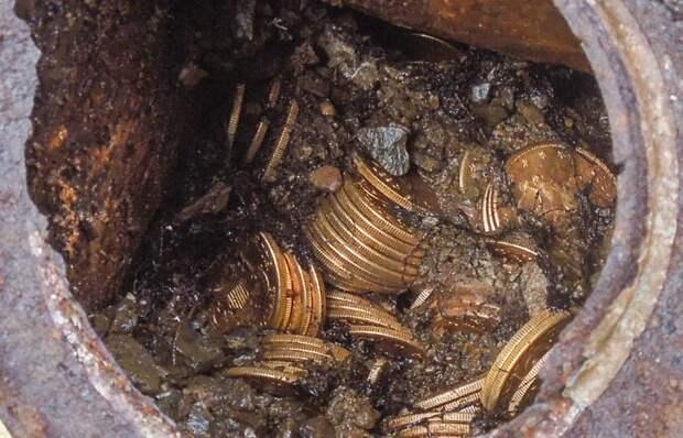 В Калининградской области найден клад древнеримских монет