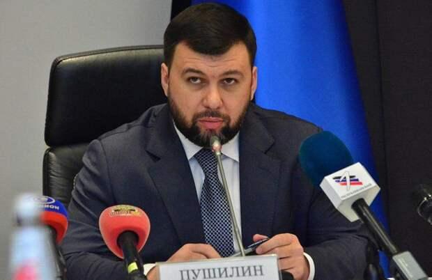 Пушилин: Ничтожный статус Украины не позволяет Зеленскому трактовать Минские соглашения