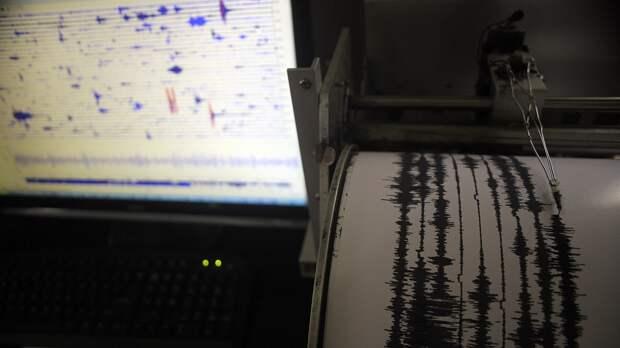 Несколько сильных землетрясений произошло на Камчатке