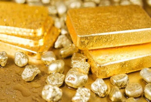 Золото, много золота...