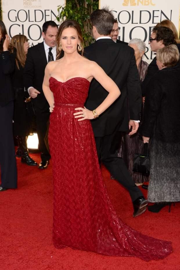 Jennifer Garner red dress