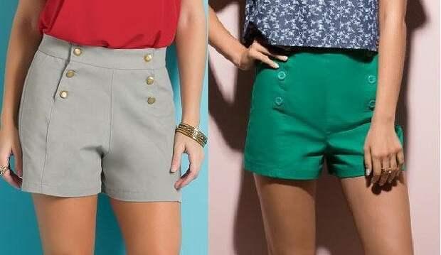 Выкройка летних женских шорт