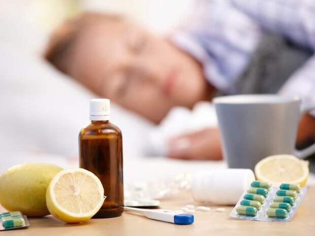 Реакция организма на первые симптомы простуды