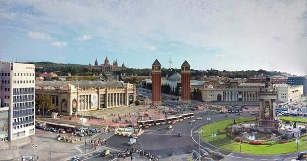 В Барселоне полицейские выстрелили в мужчину, угрожавшему им ножом