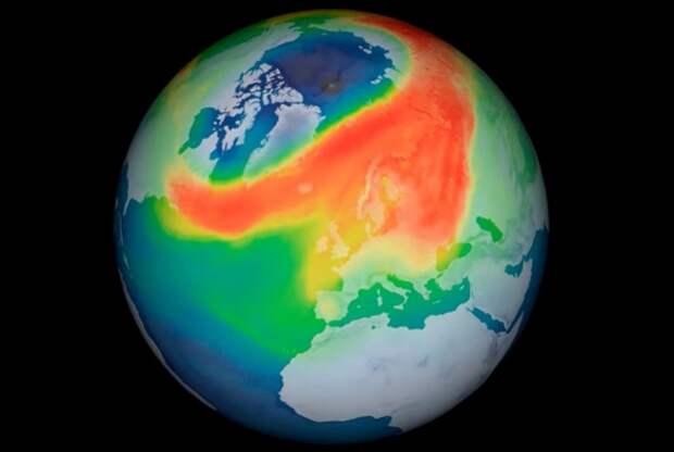Ученые обнаружили необычную озоновую дыру над Арктикой