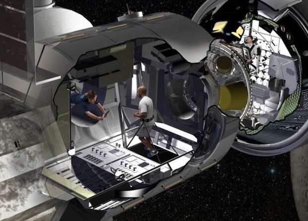 Lockheed Martin представила жилой модуль для космических колоний