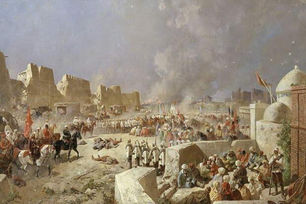 Оборона Самарканда: как 650 русских солдат сдержали тысячи нападавших