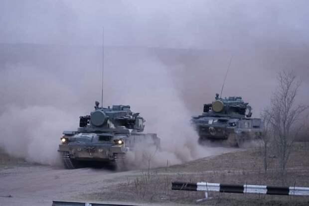 Тактические учения с боевой стрельбой прошли на полигоне ВВС и войск ПВО