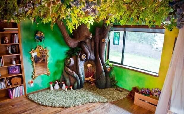Признавайтесь, кто тоже захотел такой домик? дети, детская, детская комната, дизайн, идеи, ремонт, своими руками, фото