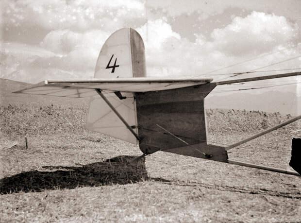 1930s Japanese Glider Tail #4