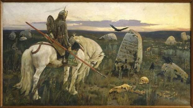 «Богатыри» Васнецова: когда в картине главное эпичность
