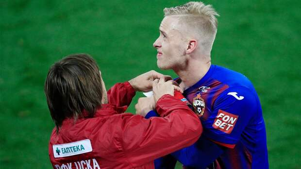 Защитник ЦСКА Магнуссон: «Сезон для меня закончен»