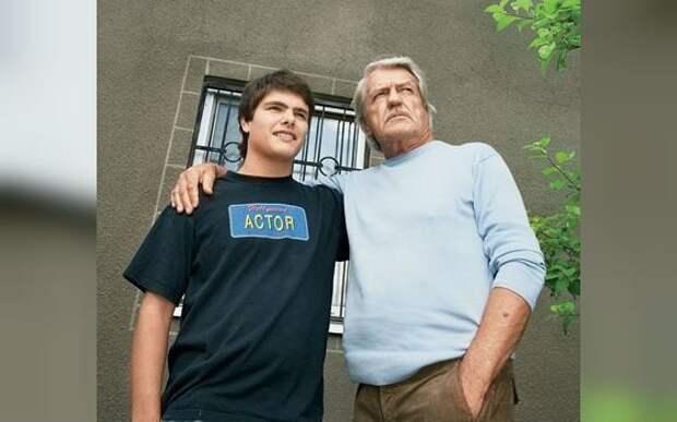 Леонид Кулагин с внуком Кириллом