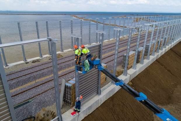 Стало известно как защитят железную дорогу к Крымскому мосту