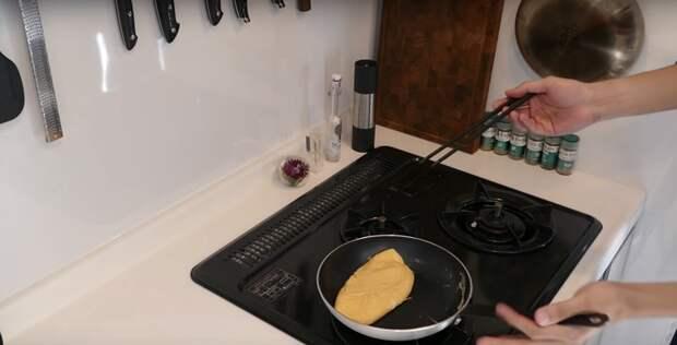 Невероятно воздушный омлет по-японски, который станет любимым завтраком