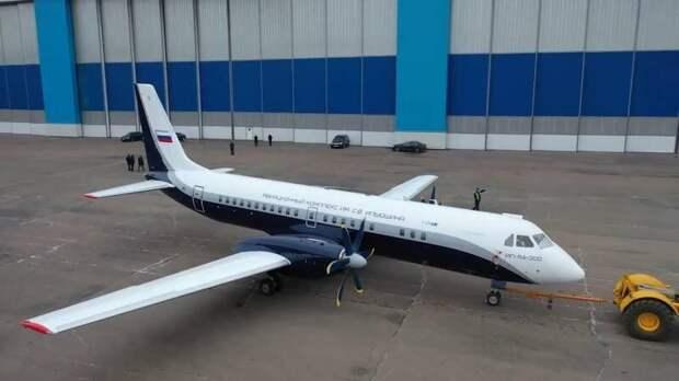 В сентябре первый испытательный полёт совершит российский турбовинтовой ИЛ-114-300