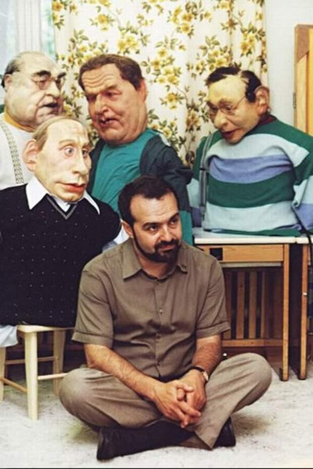 """Виктор Шендерович и его """"Куклы"""", 1996г."""