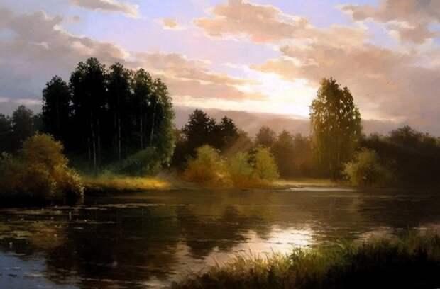 пейзажи Вячеслав Хабиров - 02