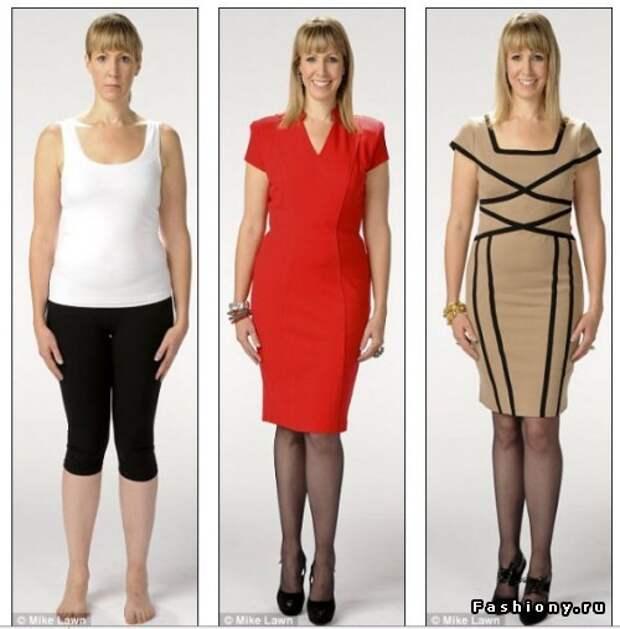 Эксперимент с двумя платьями и фигурой от английской газеты DailyMail