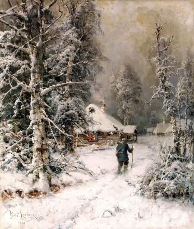 художник Юлий Юльевич Клевер картины – 30