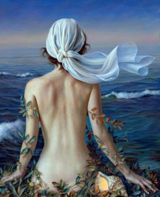 Море. Автор: испанский художник Алекс Алемани (Alex Alemany).