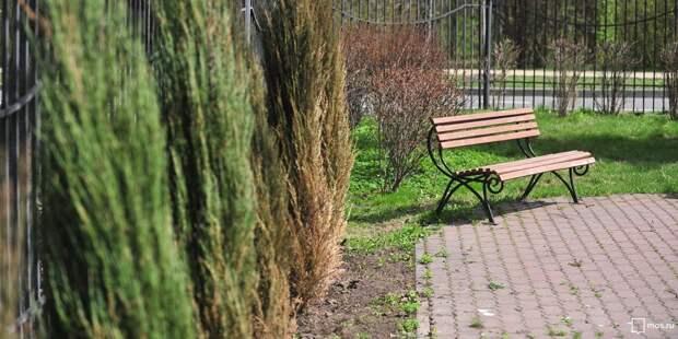 На трёх улицах Марьиной рощи установили новые скамейки