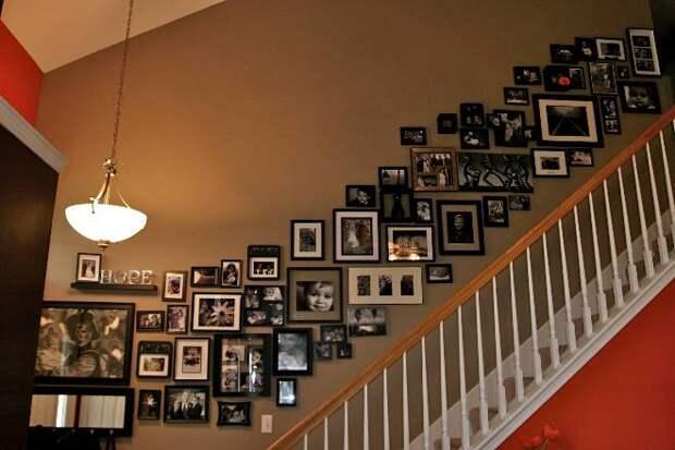 Фото в интерьере – эффектный настенный декор (69 фото)