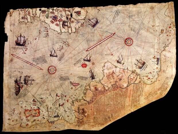 Загадка древних карт Пири Реиса