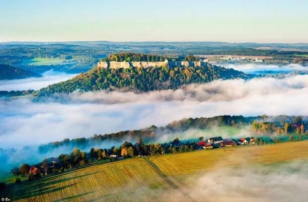"""Парк """"Саксонская Швейцария"""", Германия европа, красоты, национальные парки, природа"""