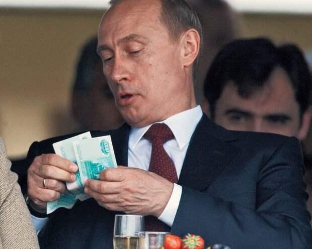Силовигарх Путин доберётся теперь налогом до всех самозанятых в девятнадцати регионах