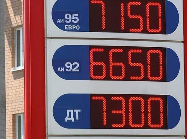 Война бензоколонок: гарант возмутился, но цены всё равно выросли