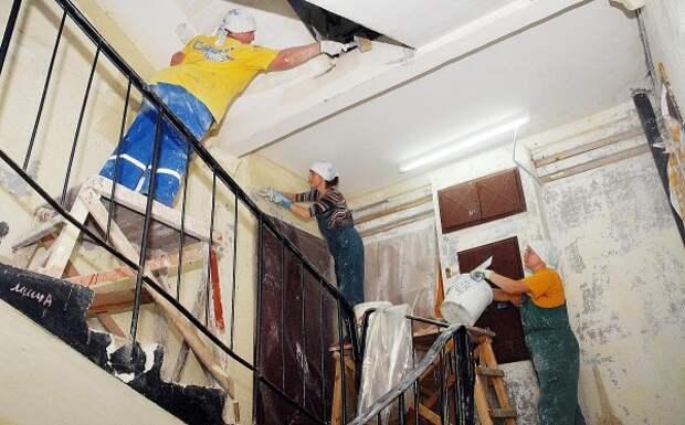 В Севастополе продолжаются работы по капремонту многоквартирных домов