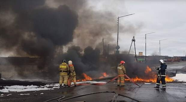 В Норильске и на Таймыре ввели ЧС из-за разлива нефти