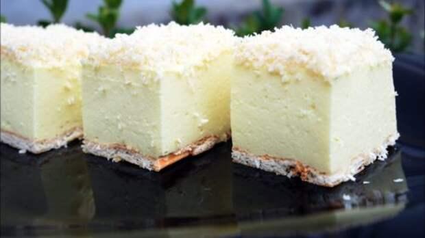 Как приготовить изумительно нежный торт без выпечки «Снежный пух»